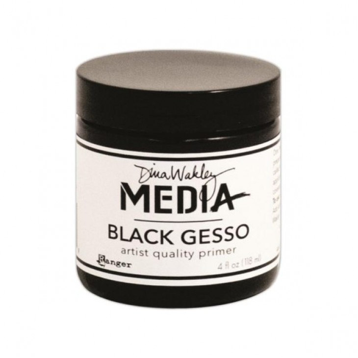 Гессо черный DINA WAKLEY MEDIA Black Gesso
