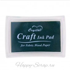 "Подушка штемпельная ""Craft ink Pad"", темно-зеленая"